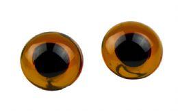 Kobberbrune øjne