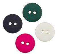 13 mm plastknapper i farver