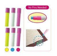 Fabric Glue pen refills, 6 sticks