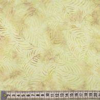 Sart gulbrunt bregneblad mønster.