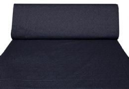 blåt med sortblåt snirkelmønster