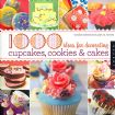 Vis produktside for: 1000 ideas for decorating cupcakes, cookies & cakes