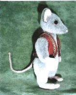 """Rasmus"" the rat (Brigits Bears)"