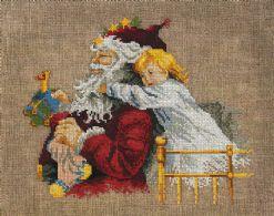 Julemand og barn
