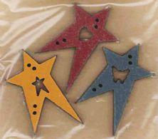 3 stjerner i forskellige farver