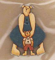 Bamsemor med dreng