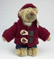 Bamse med duffelcoat