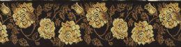 Strågule roser og brune blade